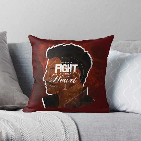 Dorian - Fight For What's In You Heart Throw Pillow