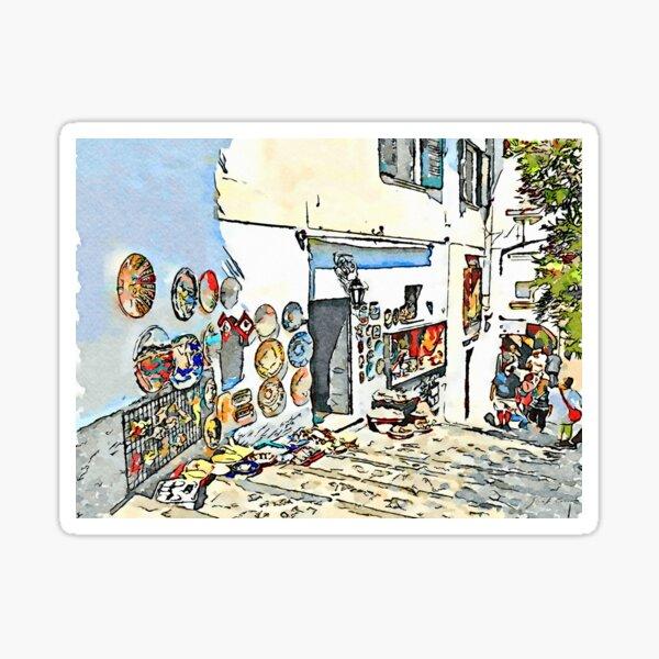 Ravello: souvenir's shop Sticker