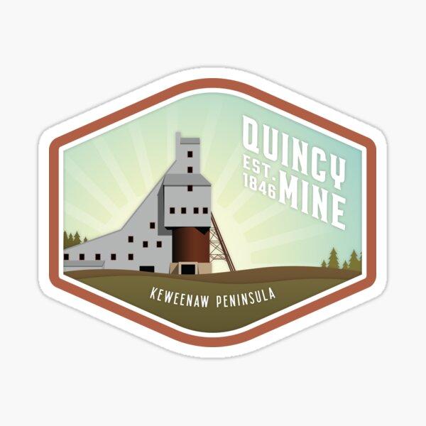 Quincy Mine Sticker