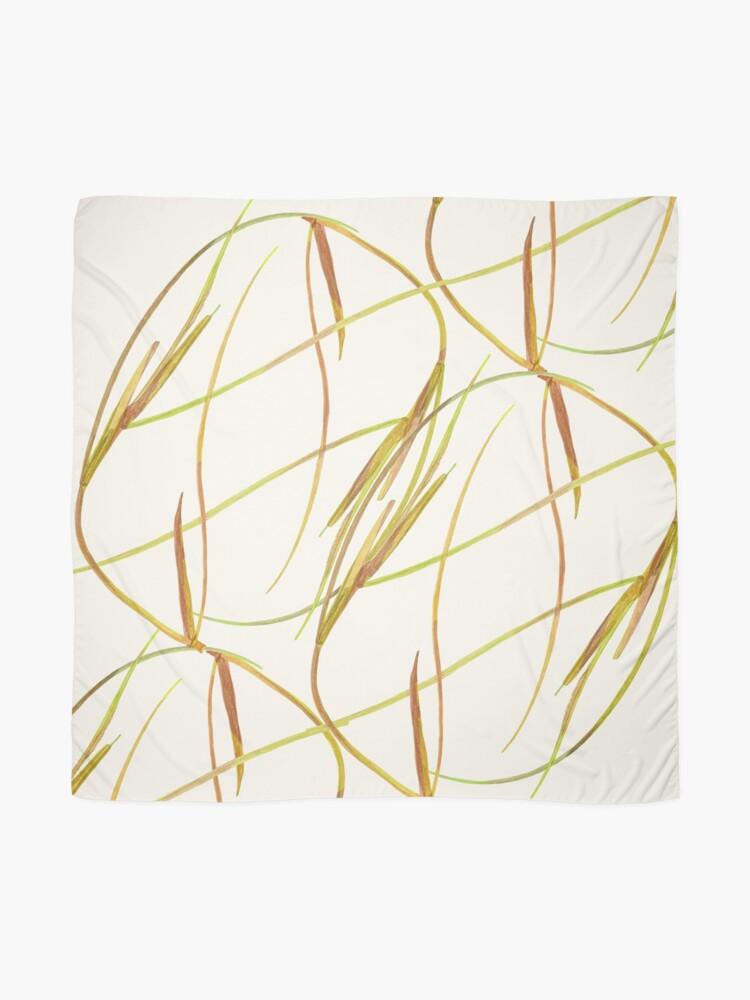 Alternate view of Rhythm - organic shapes Scarf