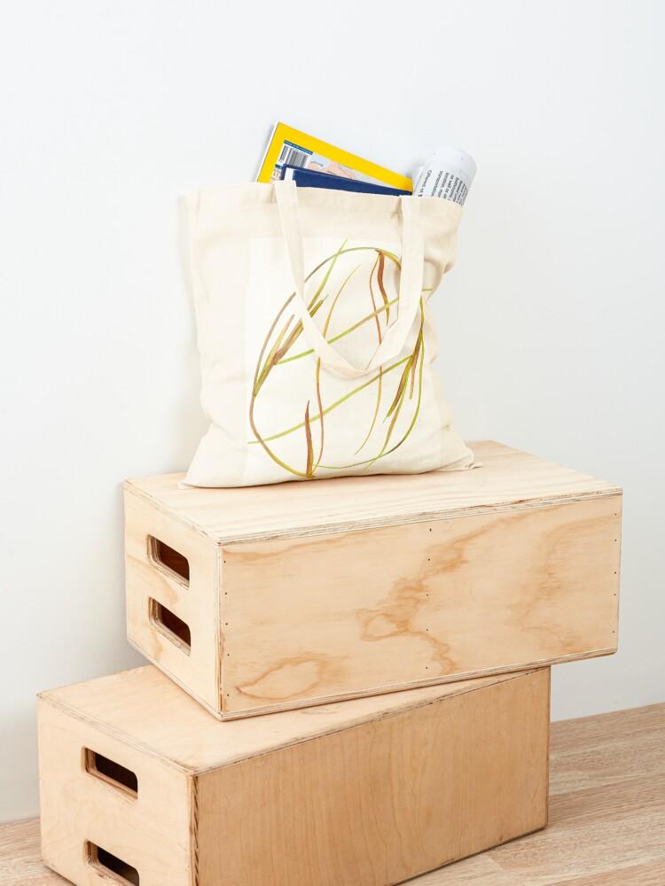 Alternate view of Rhythm - organic shapes Tote Bag