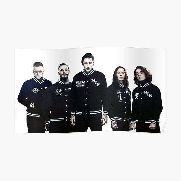 Motionless In White bandmembers Poster