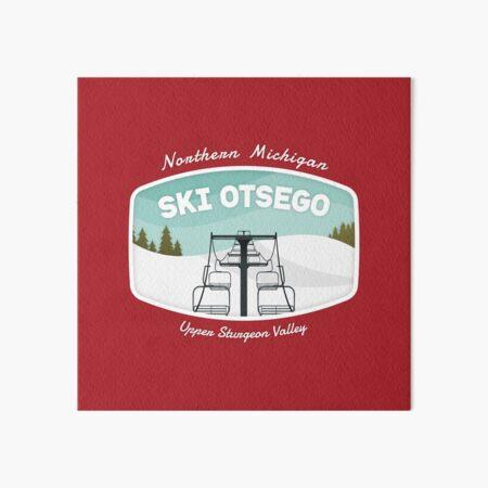 Ski Otsego Art Board Print