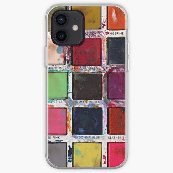 Vintage Paint Box iPhone Soft Case