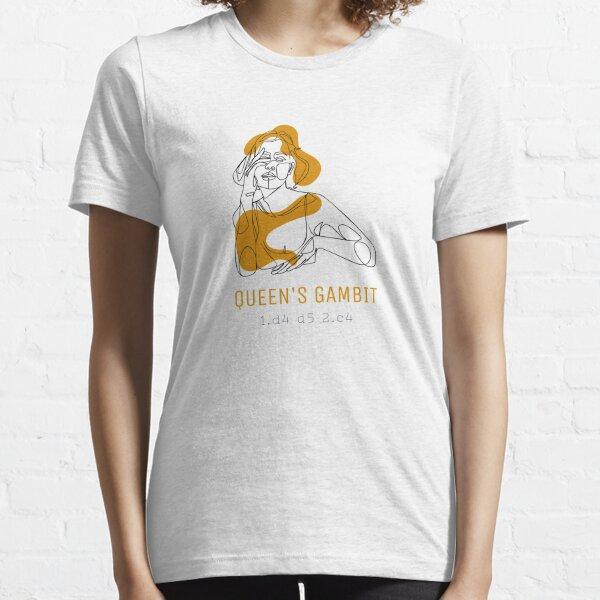 Queen's Gambit Chess Essential T-Shirt