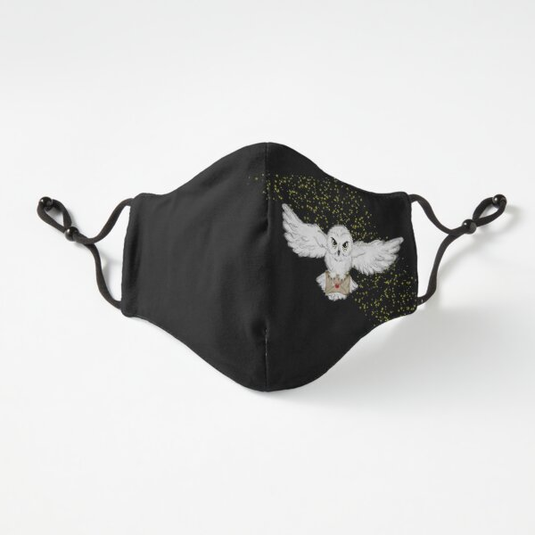 Owl Flight Fitted Face Mask   Fitted 3-Layer