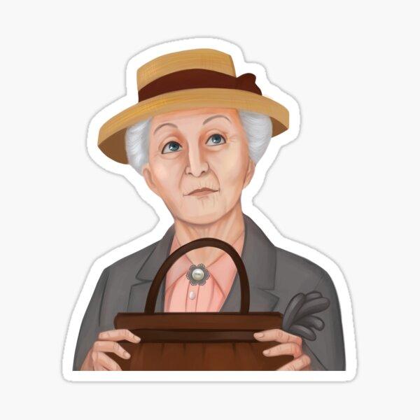 Miss Marple  Sticker