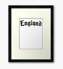 Rebellious England #2 Framed Print