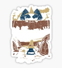 Attack on Waltz - Shingeki no Waltz (Final Fantasy IX) Sticker