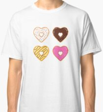 Heart Shaped Donuts Classic T-Shirt