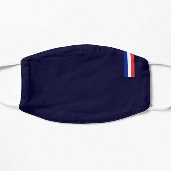 FRANCE présidentielle bleu foncé Masque sans plis