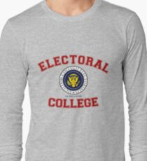Electoral College-Collegiate Design Long Sleeve T-Shirt