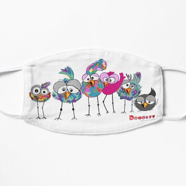 Funny Birds Flache Maske