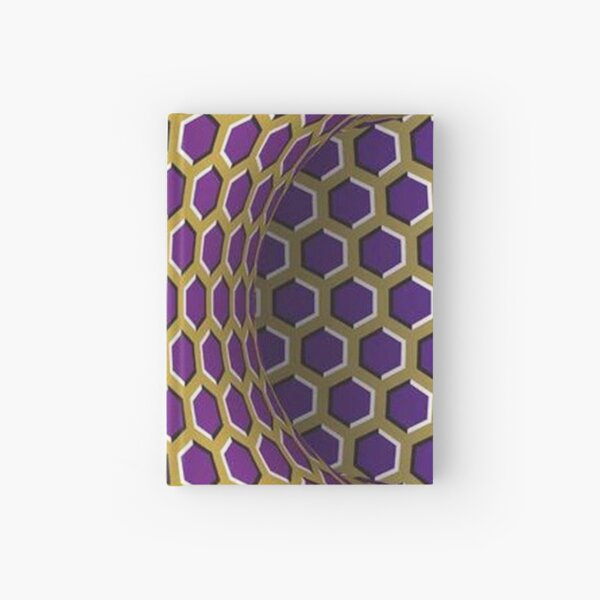 Motion Illusion Hardcover Journal