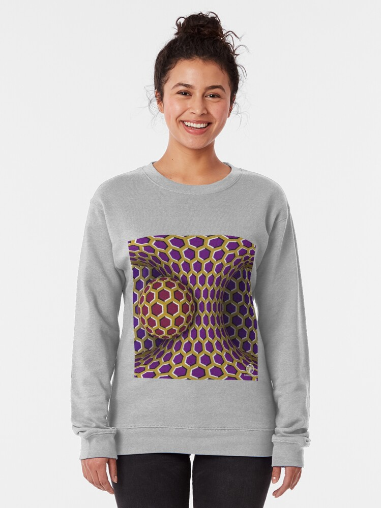 Alternate view of Motion Illusion Pullover Sweatshirt