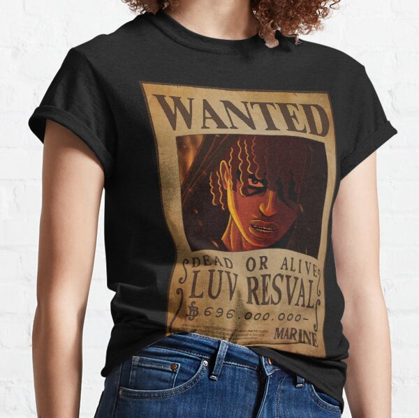 Luv Resval Wanted T-shirt classique