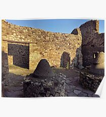 Pompeii ruins Poster