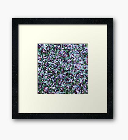 #DeepDream Ice 5x5K v1452178372 Framed Print