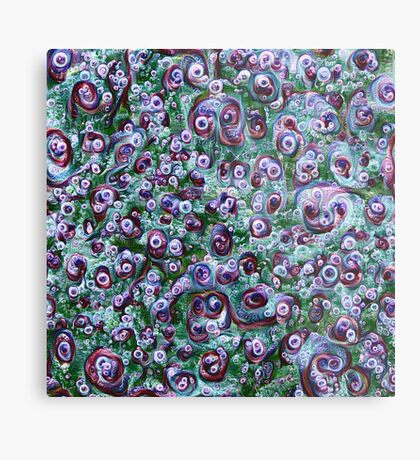 #DeepDream Ice 5x5K v1452178372 Metal Print