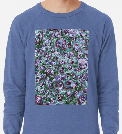 #DeepDream Ice 5x5K v1452178372 Lightweight Sweatshirt