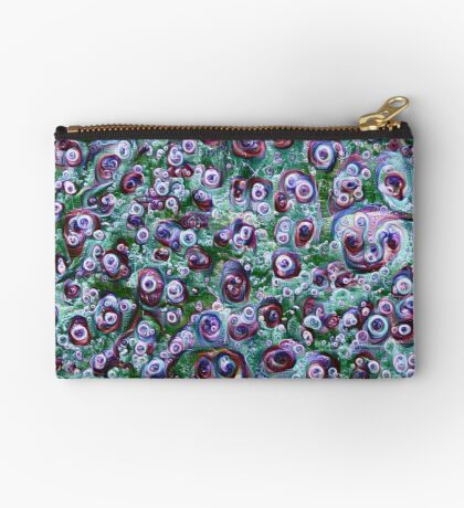 #DeepDream Ice 5x5K v1452178372 Zipper Pouch