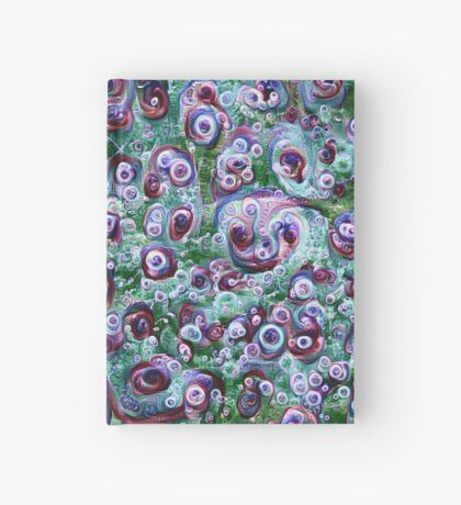 #DeepDream Ice 5x5K v1452178372 Hardcover Journal