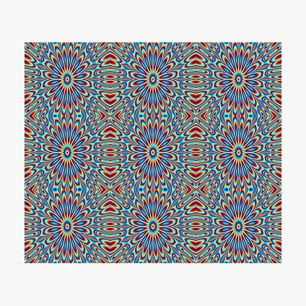 Optical Illusions - Illusory motion - Decorative Photographic Print