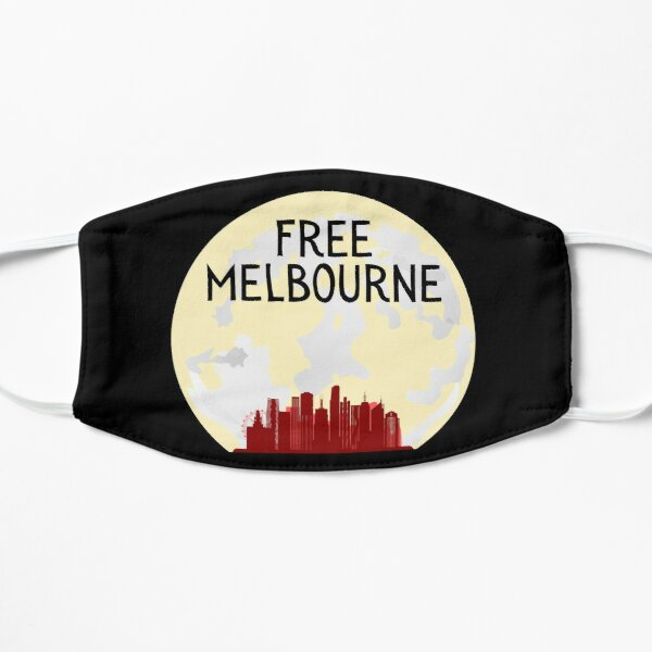 Free Melbourne - Aboriginal Flat Mask