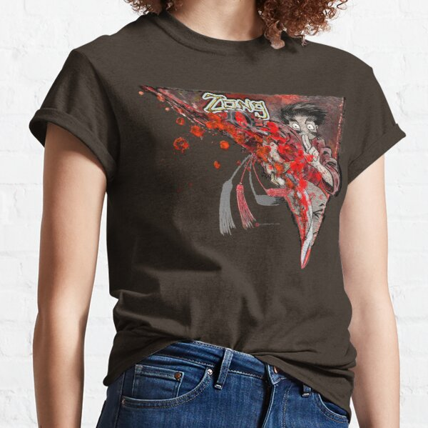 The Red Sword (红色劍) of Zong Q Classic T-Shirt