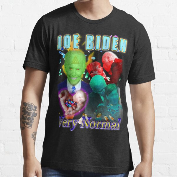 Joe Biden - Creepy Normal Old Man Essential T-Shirt