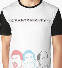 The Office: Scrantonicity 2 Band Shirt Graphic T-Shirt