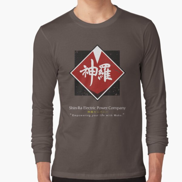 Shin-Ra Company / Final Fantasy VII Long Sleeve T-Shirt