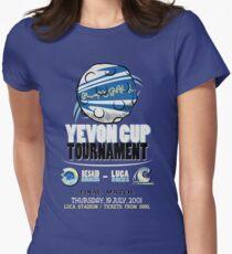 Blitzball Tournament! (Final Fantasy X) Womens Fitted T-Shirt