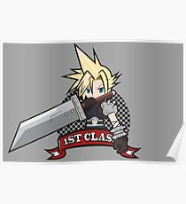 1ST CLASS SOLDIER (Final Fantasy VII) Poster
