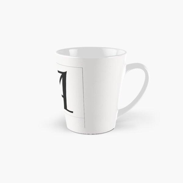 lettre A Tall Mug
