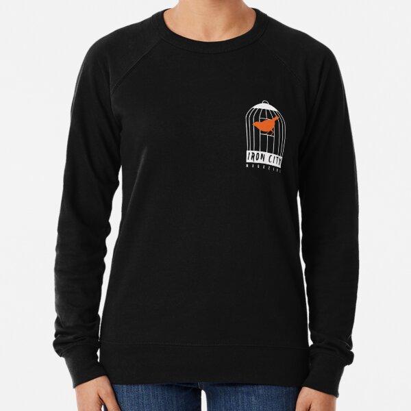 Reverse Iron City Logo Pocket Size Lightweight Sweatshirt