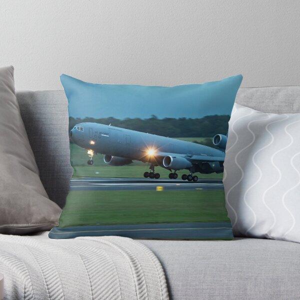 U.S. Air Force McDonnell Douglas KC-10A Extender Throw Pillow