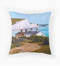 Seven Sisters Summer Throw Pillow