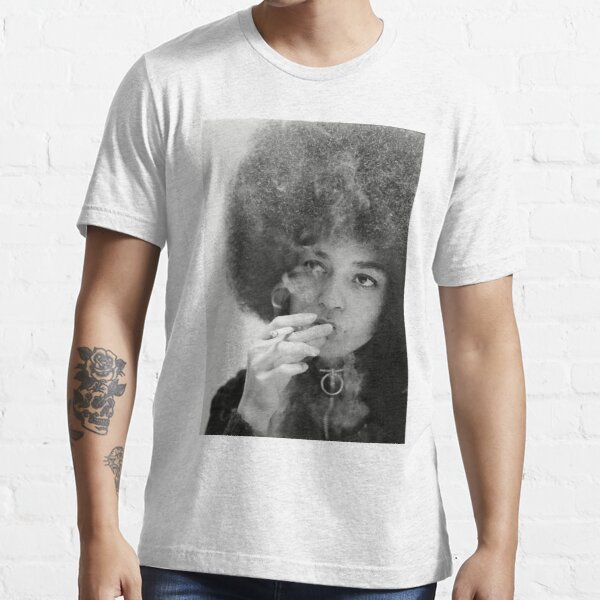 Angela Davis Smoking Essential T-Shirt
