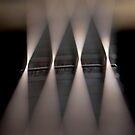 Bokeh Bass Guitar Strings by rhian mountjoy