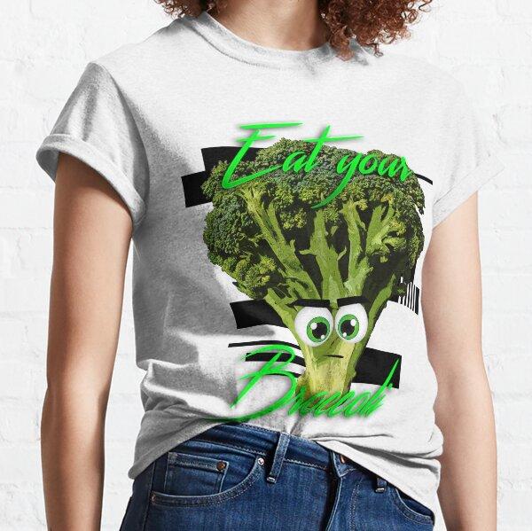 Eat your Broccoli (and other veggies) - Vegan shirts Classic T-Shirt
