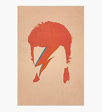 David Bowie / Ziggy Stardust Photographic Print