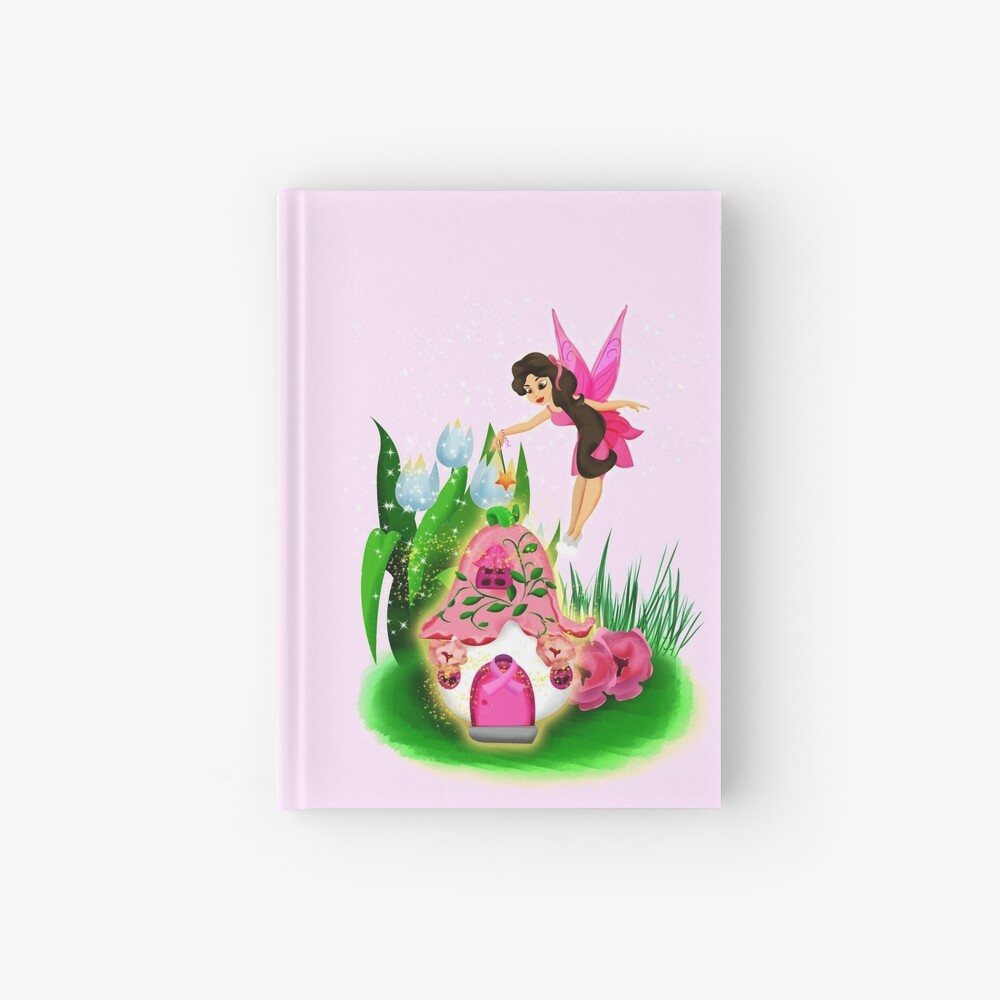 Join Esperanza the Hope and Faith Fairy In Pretty In Pink™ Hardcover Journal
