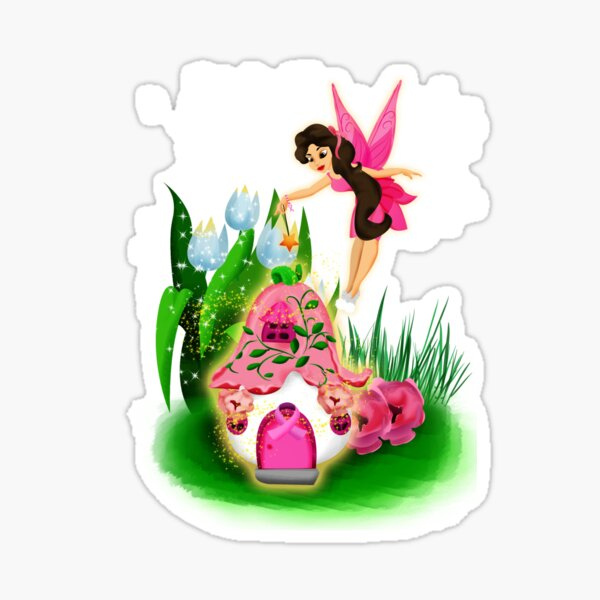 Join Esperanza the Hope and Faith Fairy In Pretty In Pink™ Sticker