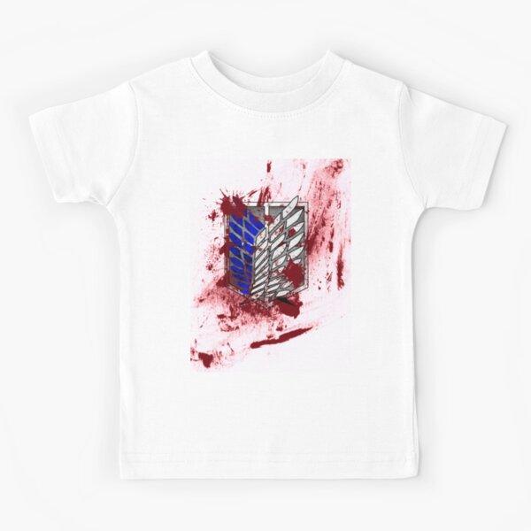 Attaque des ailes des titans de la liberté T-shirt enfant