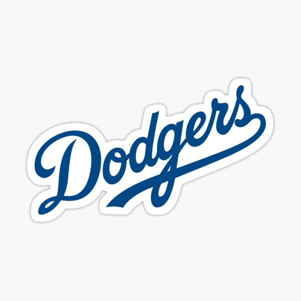 Dodgers-Angeles  Sticker