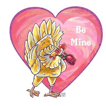 Chicken Valentine's Day by ImagineThatNYC