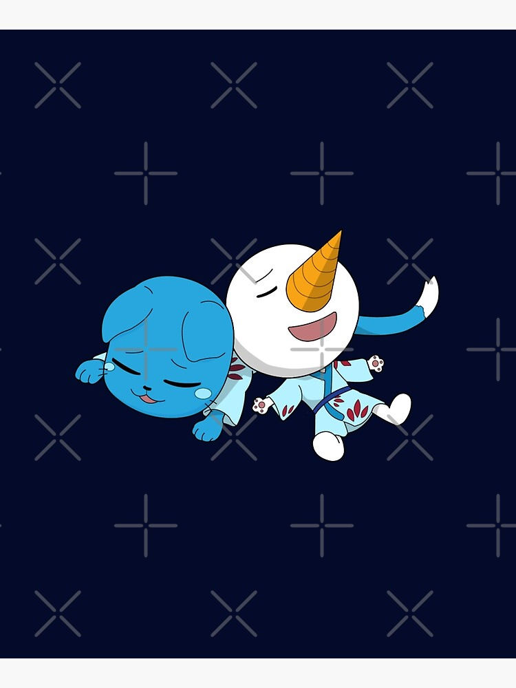 Happy and Plue Fairy Tail by shirooz