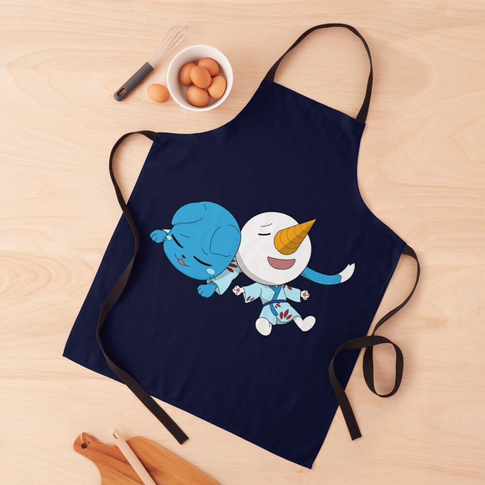 Happy and Plue Fairy Tail Apron
