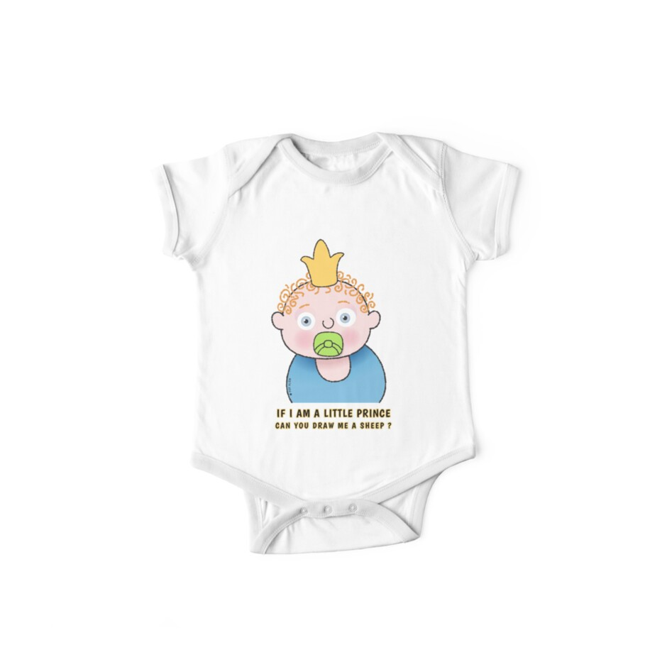 Little Prince Draw Me A Sheep One Piece Short Sleeve By